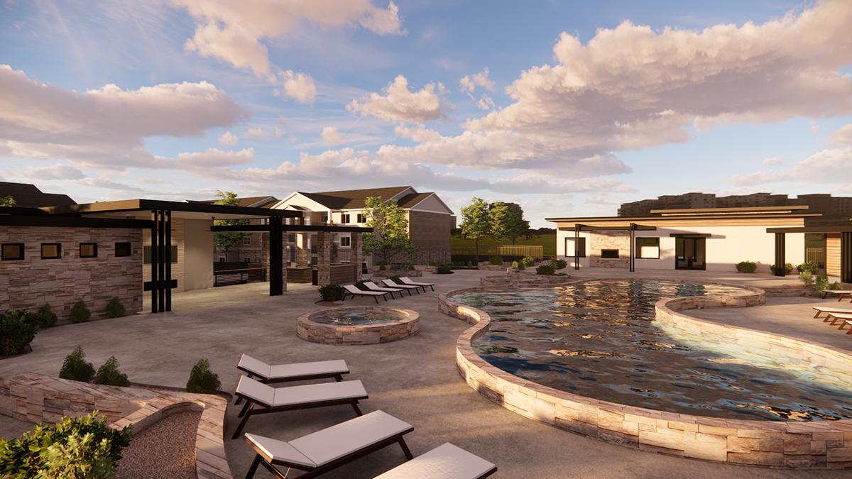 Carrington Pool Area